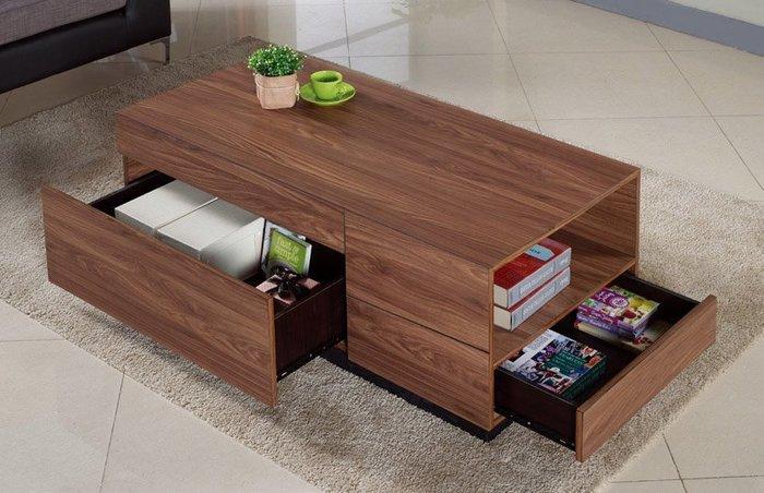 FA-【歐瑞家具】里約4尺胡桃大茶几/L型沙發/高品質/限新竹以北區/超低價/系統家具/高品質/1元起