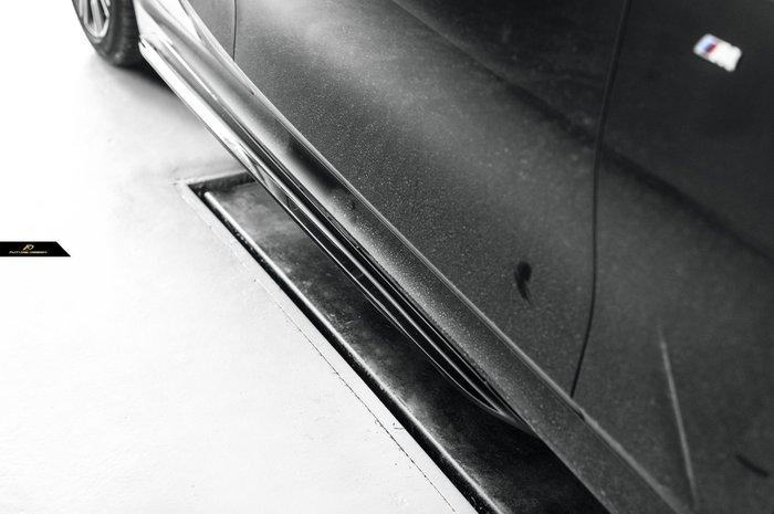 【政銓企業有限公司】BMW G20 G21 MPerformance 款 高品質 亮黑 側裙定風翼  免費安裝 現貨