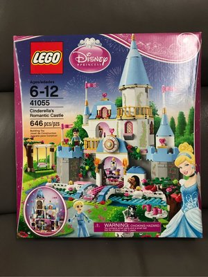 全新未拆 LEGO樂高41055 迪斯尼公主灰姑娘的浪漫城堡