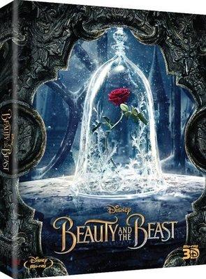 毛毛小舖--藍光BD 美女與野獸 3D+2D PET套限量鐵盒版(中文字幕) Beauty and the Beast