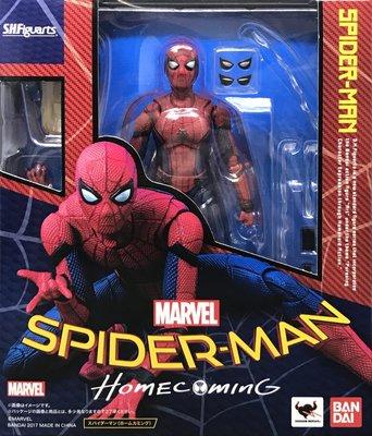 日本正版 萬代 S.H.Figuarts SHF 蜘蛛人 返校日 可動 模型 公仔 日本代購