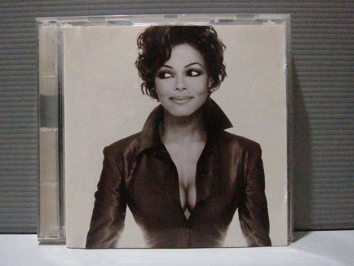 珍娜傑克森 THE BEST OF JANET JACKSON 德製 1986-1996十年精選輯 原版CD片佳
