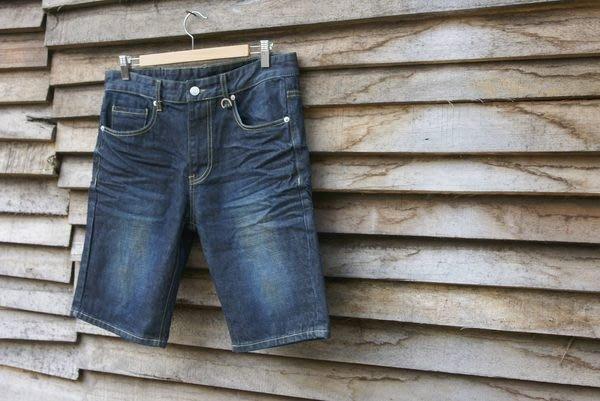 【HYDRA】Rock Steady RS NON-WASHED DENIM SHORT 色落 水洗 牛仔 丹寧 短褲 W 32 / 34 / 36 LEVIS