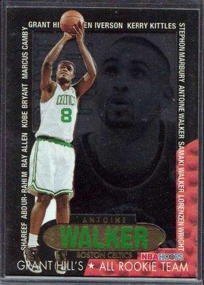 96-97 HOOPS GRANT'S ALL ROOKIES #9 ANTOINE WALKER