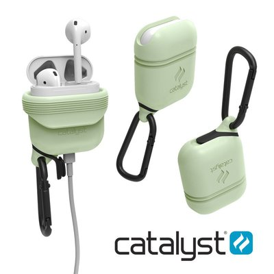 【CATALYST Apple AirPods 夜光綠】保護收納盒 Air Pods