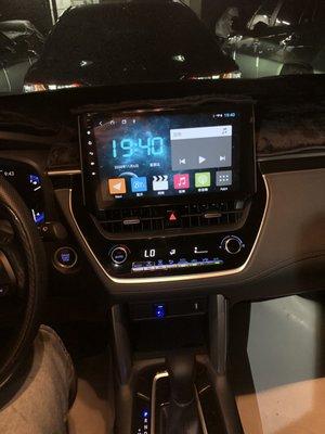 TOYOTA  All New Corolla Cross 安卓專用機 Carplay 觸控螢幕主機導航/USB/藍芽