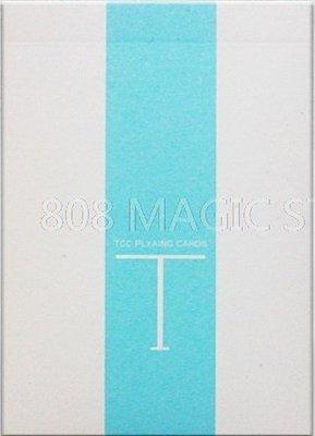 [808 MAGIC]魔術道具 Fresh T Playing Card 粉藍 限量純色牌