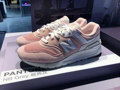 【Dr.Shoes】NEW BALANCE NB 997 女鞋 白 粉 麂皮 休閒 慢跑  (B) CW997HBP