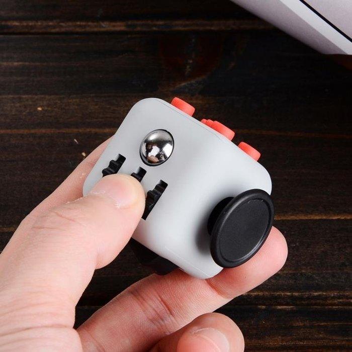 美國FidgetCube手指多動癥減壓骰子兒童玩具成人解壓魔方無聊神器