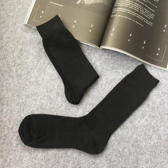 紳士西裝襪 【6雙】紳士男襪系列白領上班族中長筒 商務款雙針正裝黑襪控
