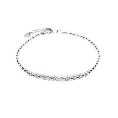 【JHT金宏總珠寶/GIA鑽石專賣】1.00ct天然鑽石手鍊 /材質:PT850(JB46-A28)