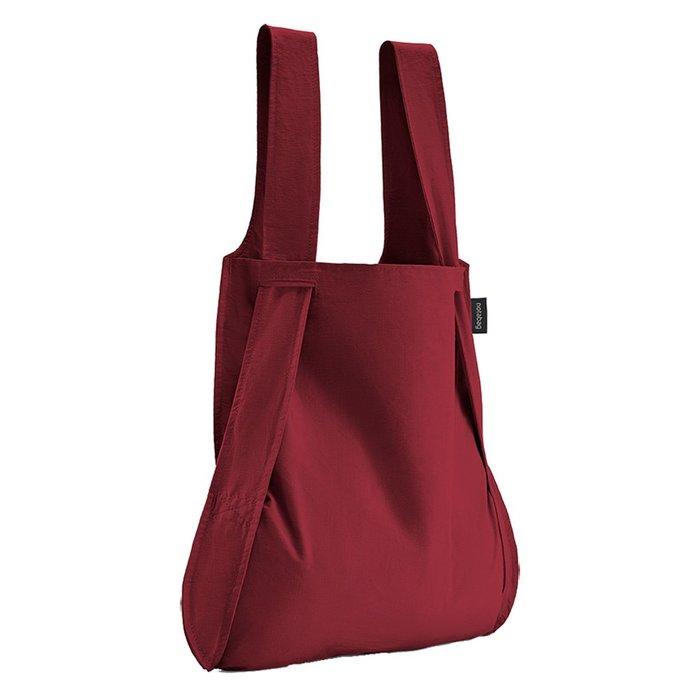 ☘小宅私物 ☘ 德國 Notabag 諾特包 (酒釀紅) 後背包 手提袋 側背包 環保袋 現貨 附發票
