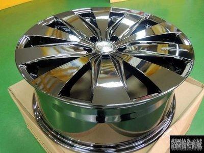 全新 正日本 BADX VIP 鋁圈 19吋 5孔114.3 黑電鍍 CRV CAMRY IX35 previa