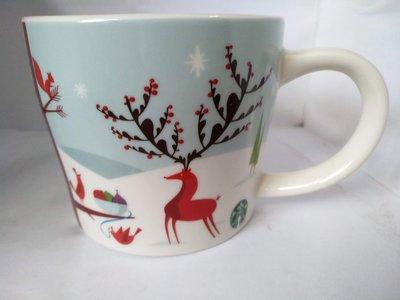 Starbucks 星巴克 2011 14oz耶誕歡聚馬克杯 聖誕派對馬克杯 星巴克聖誕馬克杯 2011星巴克