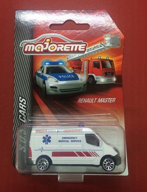 傑仲(有發票)振光 公司貨 MajORETTE 美捷輪 救援車 RENAULT MASTER DI03150