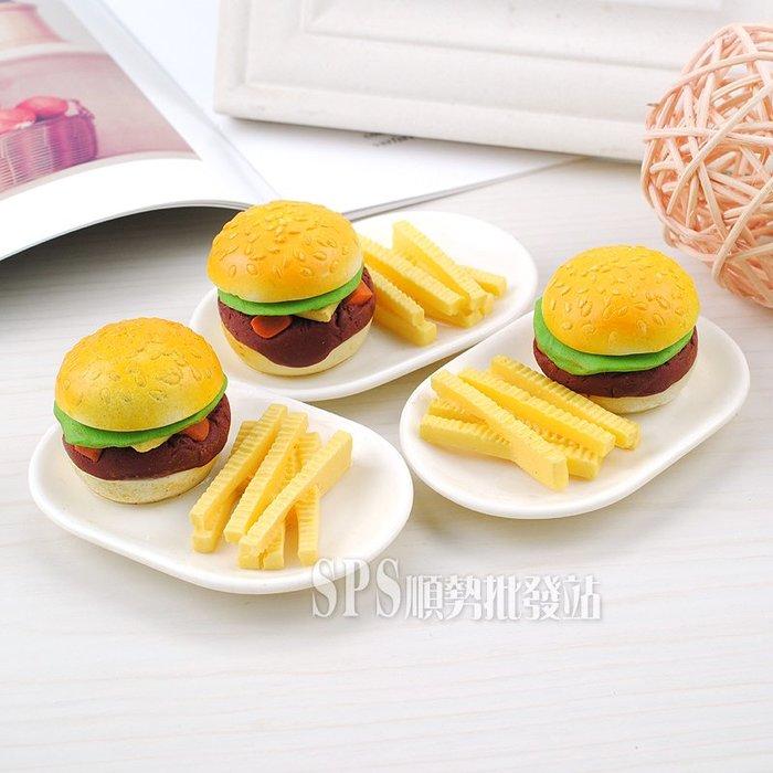 【順勢批發站】文創仿真模型 漢堡薯條磁鐵 台灣製造 MIT,台灣紀念品,吸鐵,磁鐵,店面擺飾