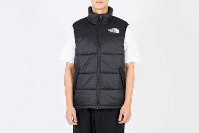 The North Face M Himalayan Synth Vest TNF 防寒黑色背心