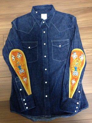 {CHI} VISVIM GIZA DAMAGED SOCIAL ALBACORE 101 DECKHAND 牛仔 襯衫
