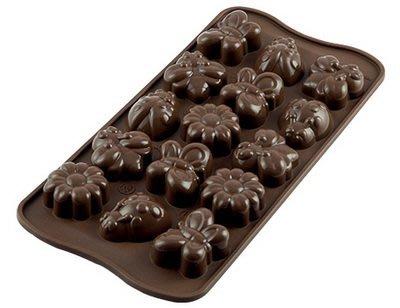 ☆║IRIS Zakka║☆ 義大利 silikomart easy choco 春天 巧克力型模具 新北市