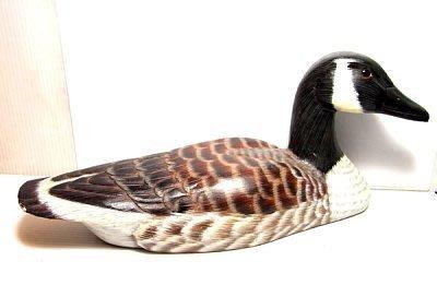 小風鈴~ 實木彩繪木雕鴨~超大隻長約28.5公分