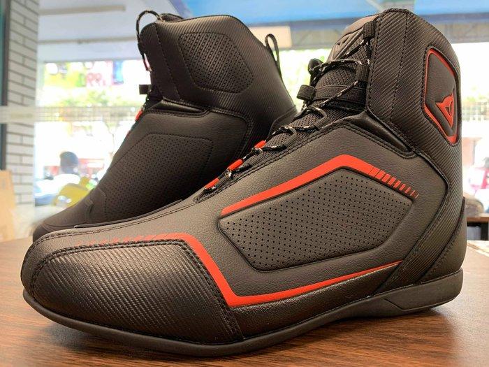 【松部品】義大利 Dainese Raptor Air Shoes 丹尼斯 夏季透氣短靴 打洞 防摔車靴 防滑鞋底
