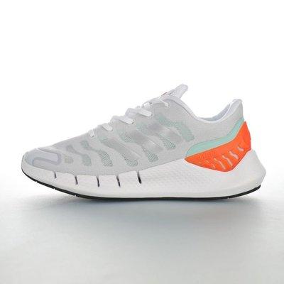 ADIDAS CLIMACOOL 2020 M 清風系列超輕量男女生休閒運動慢跑鞋「灰白橘薄荷綠」FW1223