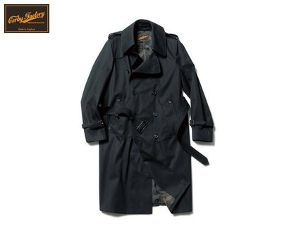 15AW SOPHNET. CORBY FACTORY TRENCH COAT 風衣  9/18發