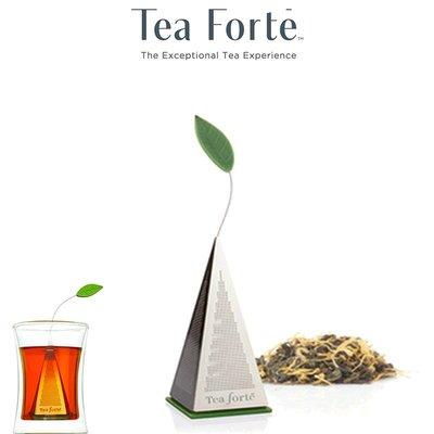 Tea Forte ICON 金字塔型 茶包 濾茶器 Tea Infuser 不銹鋼 泡茶器 茶漏 茶葉濾球 泡茶