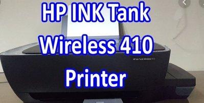 二手如新無噴頭 HP Ink Tank Wireless 410 少用 墨水9成滿 2019製造