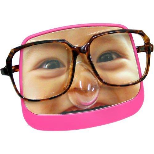 我的baby 眼鏡座 (只剩藍色),可以更換照片唷! 替眼鏡找一個家! 最後出清價