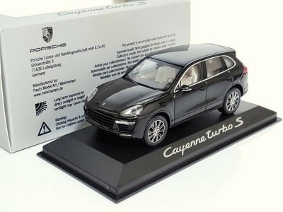 [脫韁野馬] Minichamps  Porsche Cayenne Tubo S  1/43 現貨