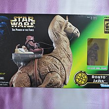 Kenner Star Wars The Power Of The Force 3.75吋 ( Ronto , Jawa )只拆盒拍照