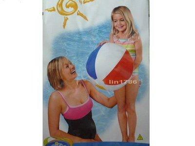 INTEX 59020原廠 基本款小沙灘球51公分 大人小孩都愛玩 衝評價 賣完為止 新北市