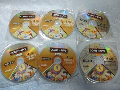【金玉閣】5-3兒童CD~COME TO LIVE(STUDENTS BOOK+WORKBOOk)Live ABC