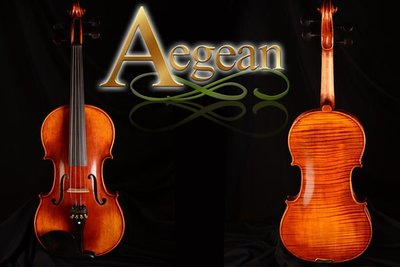 【嘟嘟牛奶糖】Aegean.高檔虎紋手工小提琴.13號琴.精緻嚴選.世界唯一限量