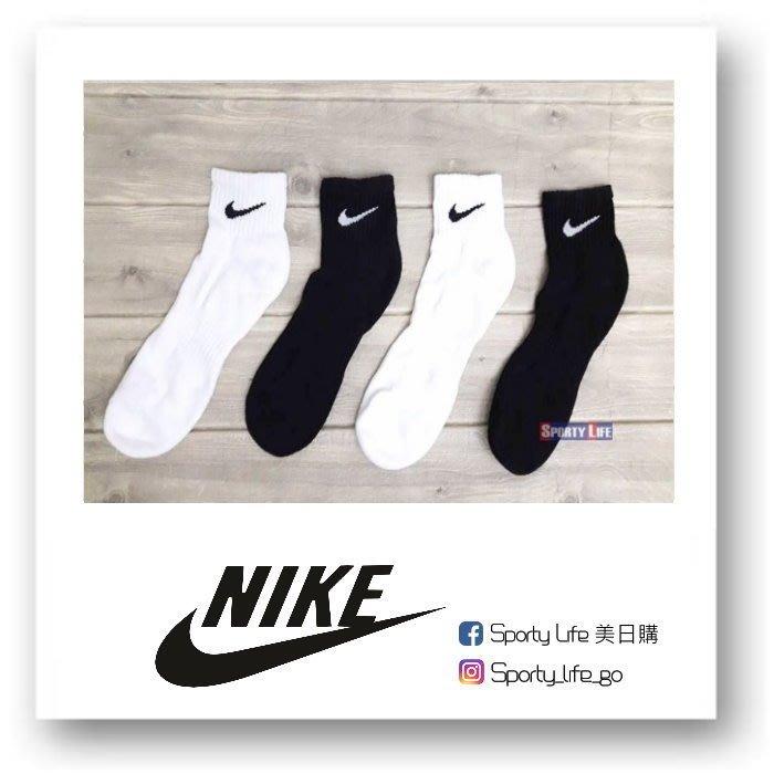 【SL美日購】NIKE COTTON QUARTER SOCK  襪子 白襪 休閒襪 運動襪 短襪 踝襪
