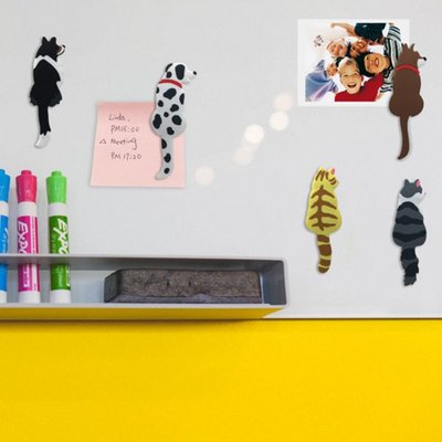 七彩獨角獸貓狗系列磁鐵掛鉤 冰箱磁鐵 掛勾【JI2270】《Jami Honey》