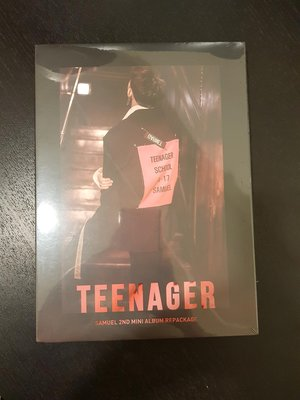 (全新)samuel專輯 2ND MINI ALBUM REPACKAGE TEENAGER 豆丁