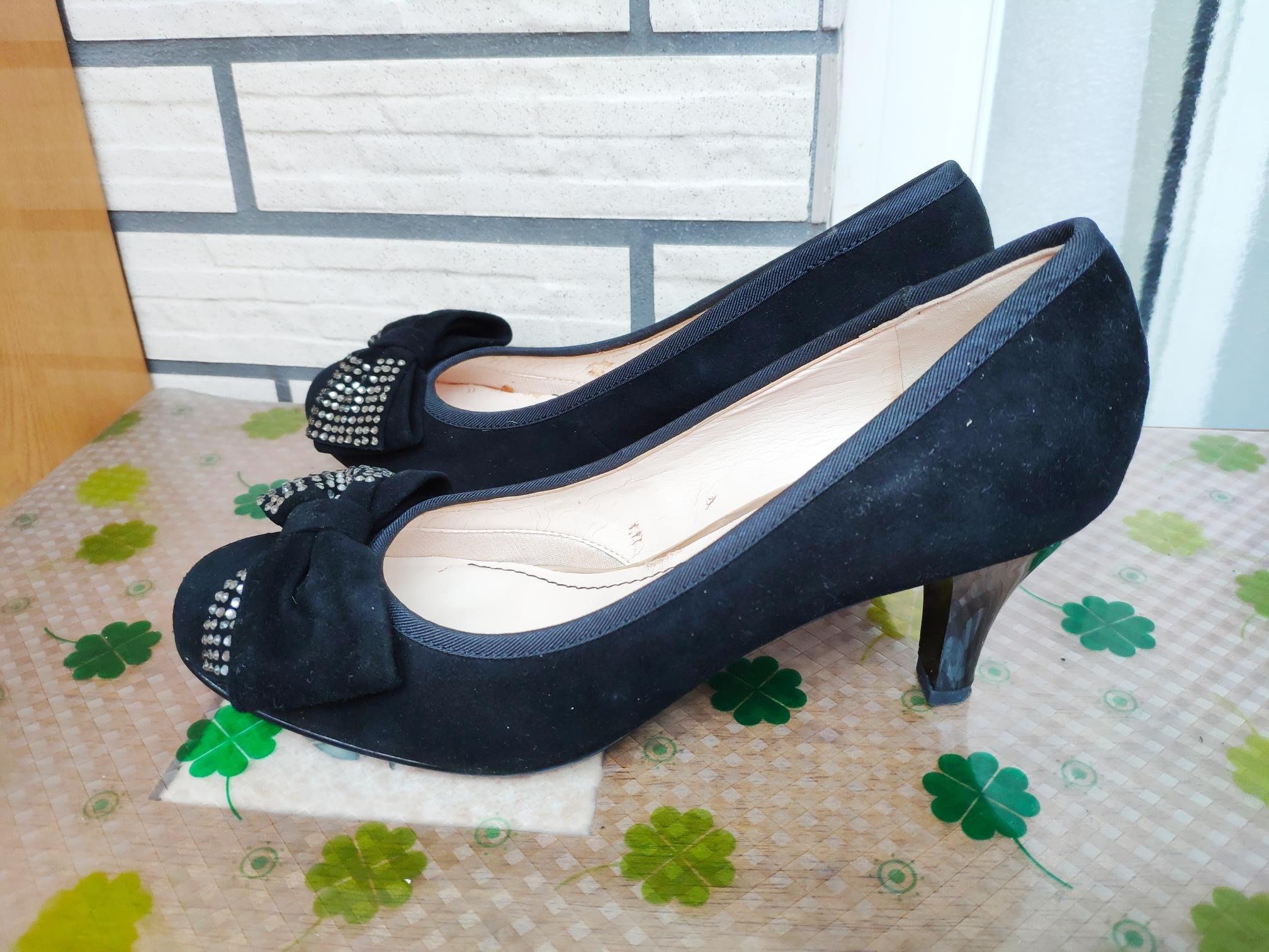 SENSE 1991全新尊貴黑高跟鞋~尺碼 23.5