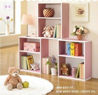 【易發生活館】書櫃自由組合韓式書櫃宜家櫃子書櫥簡易書架兒童儲物簡易
