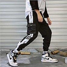 【T3】韓版 側口袋工裝褲 多口袋 薄款 口袋工作褲 運動褲 哈倫褲 縮口褲 束口褲 工裝褲 工作褲【MP48】