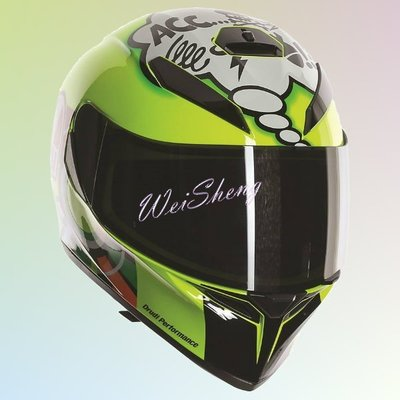 ※[元素重車裝備] ※AGV K3-SV 全罩式 安全帽 內墨片 可拆內襯 MISANOI彩繪