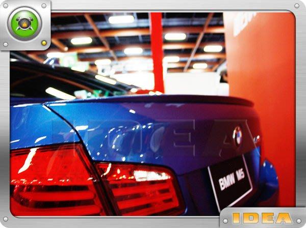 泰山美研社A477 全新BMW新大五系列F10 M5樣式高品質尾翼PUR材質非次級品可比