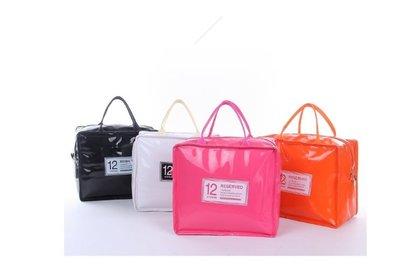 ~大號保冰保溫袋~CH~飯盒袋保溫袋飯盒包便當包午餐帶飯包手提包防水便當袋PU
