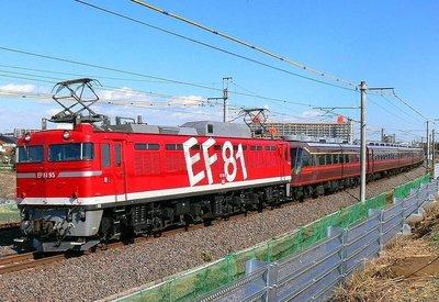 [玩具共和國] KATO 1-322 (HO)EF81 95 レインボー塗装機