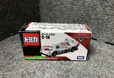 日本TAKARATOMY 迪士尼小汽車 TOMICA CARS C-18 轟太郎