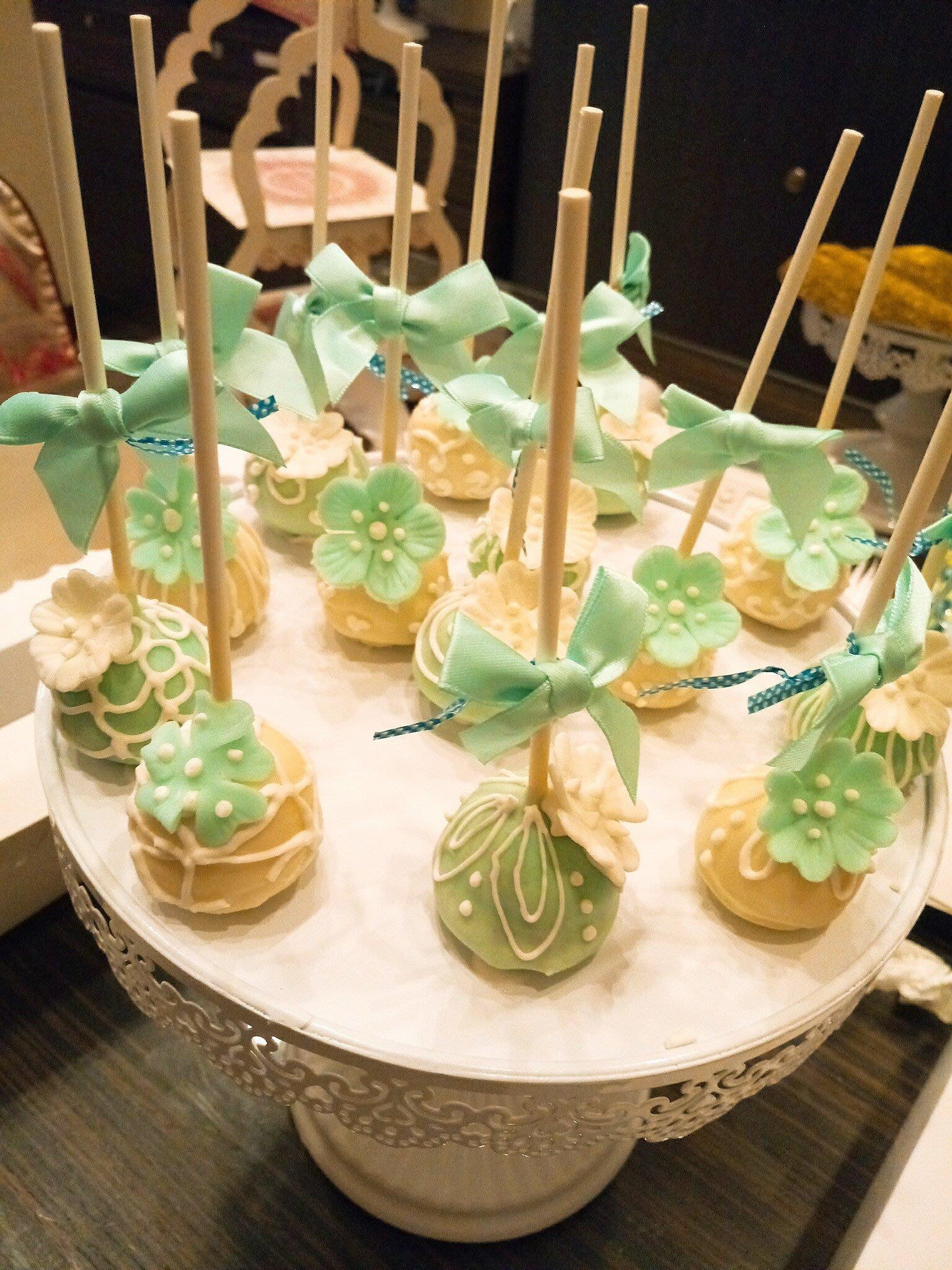 WeddingCake Candy Bar 50支組合 婚禮慶生派對棒棒糖蛋糕POP Cake 婚禮小物/二進小物