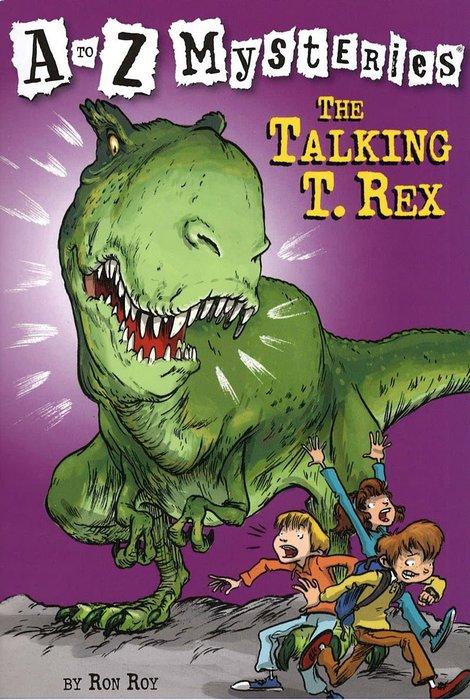 *小貝比的家*THE TALKING T. REX #T/平裝/7~12歲