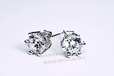 6爪耳釘0.5/1卡人造鑽石300款八心八箭南非人造鑽石戒指頸鏈合成鑽石手鏈鑽石耳環鑽石手鐲婚戒仿鑽飾