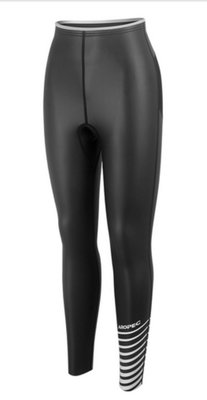 Aropec 2mm 女款100%超彈性亮皮 耐磨防寒長褲 潛水 沖浪            商品型號:DS-7B143W-2mmSkin/ES-Pant